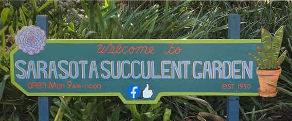 Succulent Society Signage